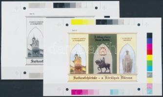 2001/40 Székesfehérvár cromalin emlékívpár (120.000)