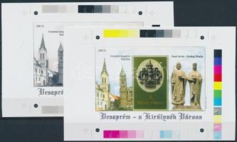 2001/27 Veszprém cromalin emlékívpár (120.000)