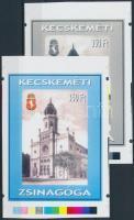 2002/30 Kecskeméti zsinagóga cromalin emlékívpár (120.000)
