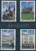 1999 Lengyel kulturális építmények sor Mi 3801-3804