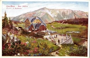 Rax, Otto-Haus, Ö.A.V., S. Reichenau