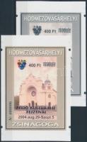 2004/32 Hódmezővásárhelyi zsinagóga cromalin emlékívpár (120.000)