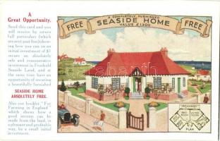 Peacehaven, Sussex; Seaside Home advertisement card