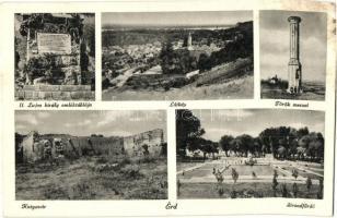 Érd, Kutyavár, Török mecset, II. Lajos király emléktáblája