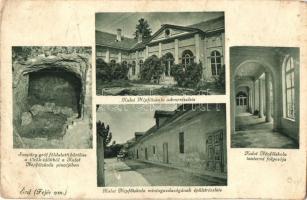 Érd, Kalot Népfőiskola és tantermi folyosó, mintagazdaság, Szapáry gróf földalatti börtöne (EB)