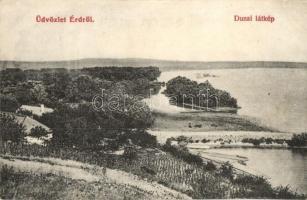 Érd, Dunai látkép. kiadja Brust Dávid