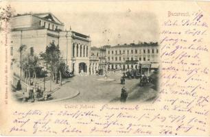 Bucharest, Bukarest; National Theater, Adolph Maier (EK)