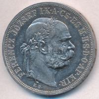 1907KB 5K Ag Ferenc József T:1- kis ph., kis patina  Adamo K7