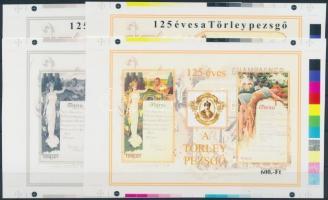 2007 Törley 4 db-os cromalin emlékívpár (240.000)