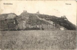 Királyháza, Koroleve; várrom / castle ruins (Rb)