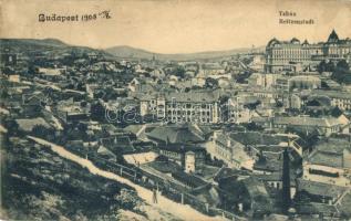 Budapest I. Tabán, látkép (EK)