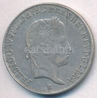1847B 20kr Ag V. Ferdinánd T:2,2- ph. Unger III.: 1419.