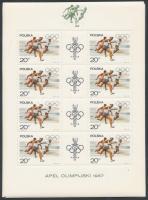 1967 Olimpia kisívsor Mi 1761-1768