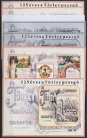2007/39-40 125 éves a Törley pezsgő 8 db-os emlékív garnitúra (56.000)
