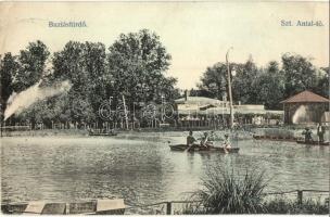 Buziásfürdő, Szent Antal tó / lake (EK)