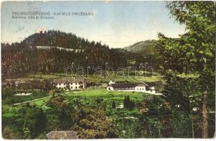 Felsőzúgófürdő, Kapiele Druzbaki; Karolina villa és étterem / villa and restaurant