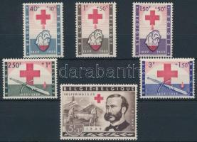 1959 Vöröskereszt sor Mi 1149-1154 (gumihibák)