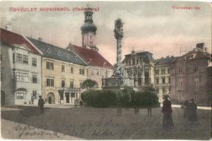 Sopron, Városház tér (EK)