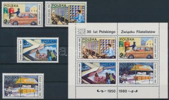 1980 Bélyegnap sor Mi 2715-2718