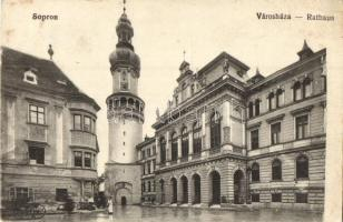 Sopron, Városháza, kiadja Blum Náthán és Fia (EK)