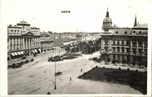 1933 Arad, tér / square, photo