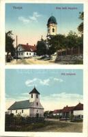 Tinnye, Római katolikus és református templomok
