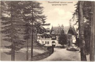 Thurzófüred, Kupele Turzo; Igazgatósági épület. Feitzinger Ede No. 734. / directorates office