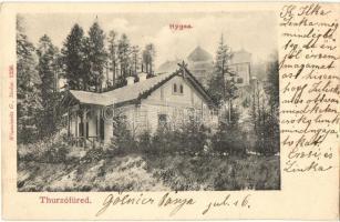 Thurzófüred, Kupele Turzo; Hygea / villa