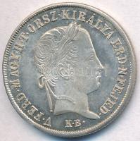 1848KB 20kr Ag V. Ferdinánd T:1-, 2 kis patina Adamo B5