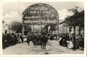 1938 Párkány, Stúrovo; bevonulás / entry of the Hungarian troops