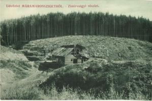Zimir-völgy, Zemir; fűrésztelep. Wizner és Dávid / saw mill