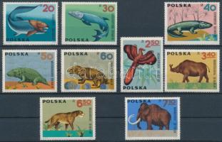 1966 Őslények (II) sor Mi 1655-1663