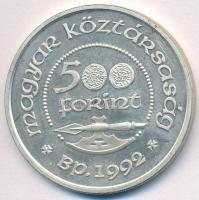 1992. 500Ft Ag Szent László T:1-(PP)
