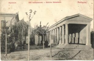 Budapest III. Aquincum, Déli oszlopcsarnok (EK)