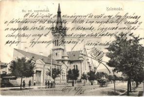 Kolozsvár, Cluj; Református templom és szeretetház / Calvinist church and hospice (EK)