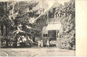 Budapest II. Emich villa. Lipótmezei út 8. (ázott / wet damage)
