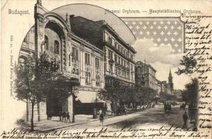 Budapest VI. Nagymező utca, Fővárosi Orfeum, Art Nouveau. Divald Károly (EK)