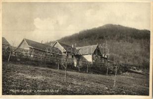 Pásztó, Ágasvár a menedékházzal, kiadja Földes A. Andor