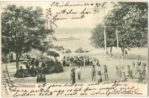 Crikvenica, Glavni trg / square (EK)