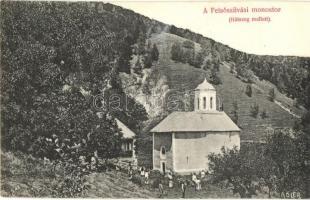 Felsőszilvás, Silvasu de Sus; Monostor. Adler fényirda / monastery