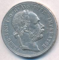 Ausztria 1875. 1Fl Ag Ferenc József T:1-,2 ph., karc Austria 1875. 1 Florin Ag Franz Joseph C:AU,XF edge error, scratched Krause KM#2222