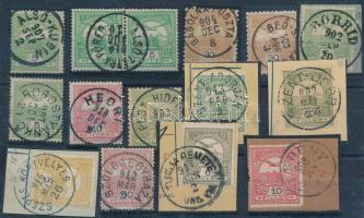 15 db Turul bélyeg 1 körös bélyegzővel (655p)
