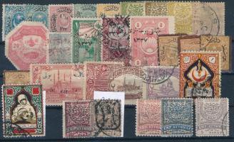 Kis török tétel: 29 klf bélyeg (Mi EUR ~150,-)