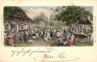 Csárdás, Strelisky kiadása / Hungarian folklore, dance
