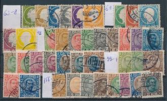 Kis izlandi tétel: 40 klf bélyeg (Mi EUR ~405,-)