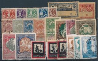 Kis régi orosz-szovjet tétel: 23 klf bélyeg (Mi EUR ~86,-)