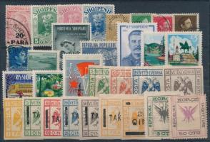 Kis albán tétel: 31 klf bélyeg