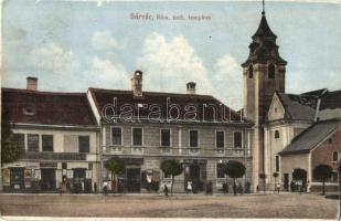 Sárvár, Római katolikus templom, Schwarz Sámuel üzlete