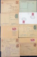 Több mint 100 küldemény a Pengő időszakból közte külföldre küldött levelek, tábori posták, stb
