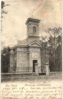 Kisjenő, Chisineu-Cris; Főhercegi emlékkápolna / chapel (hosszanti gyűrődés / crease)